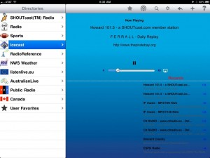 Radio - iPad Edition by Intersect World LLC screenshot