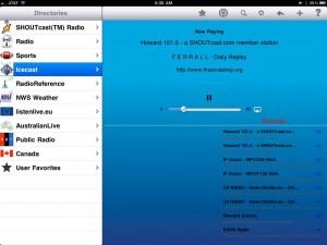 Radio - iPad Edition by Intersect World LLC screenshot