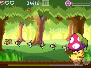 Flying Hamster HD by Game Atelier screenshot
